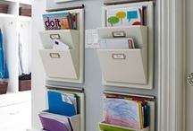 Get Organized / by Amanda Schelling