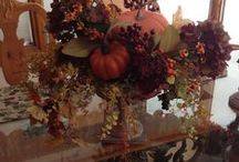 Silk Designs by Blooms & Rooms Design Studio  / One-of-a-Kind silk flower arrangements by Designer, Joyce Konstantinow