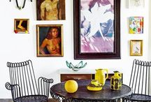 Photo wall / by Cait Sourapas Interior Design