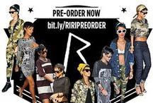 PRE-ORDER THE RIHANNA FOR RIVER ISLAND AUTUMN COLLECTION / As showcased by Rihanna herself, we've got the pieces she's been wearing available to #RIRIPREORDER now exclusively online at http://bit.ly/RIRPREORDER! Don't miss out - buy now and your order will be shipped after the collection launch date* 12th September.