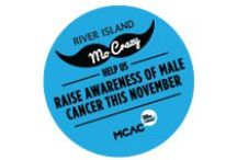 MO CRAZY / We're going Mo Crazy here at River Island this month. Help us to raise awareness of male cancer this November with these moustache adorned styles. From jumpers to accessories, we have a huge selection of moustache products to go Mo Crazy for! We will be donating to the Male Cancer Awareness Campaign from the sale of our moustache products.