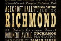 Richmond and Virginia / Today and in History: the Capital and the state. / by Renee Moore