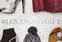 #LOVEWANTGIFT /  It's not too early to start thinking about Christmas. Get a head start on the crowd with gifts they'll love (and you'll want too)                 Shop now at www.riverisland.com / by River Island