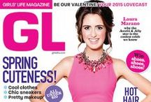 Be Your Own Star: Feb/Mar 2015 / Meet Laura Marano dish about her hit show on Disney, her upcoming flick, some romance rumors and get a head start on spring beauty and fashion! / by Girls' Life Magazine