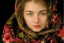 Pavlovo Posad shawls