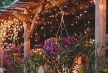 Garten / Ideensammlung für meinen Garten - Dekoration, Anordnungen Elemente, Wege anlegen, Skulpturen ...