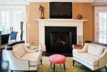 Fireplace & Mantel
