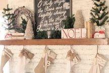 Holidays: Christmas / My favorite Christmas decorating ideas & inspirations!