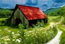 barns, covered bridges, outdoor structures / by Debbie Hiles