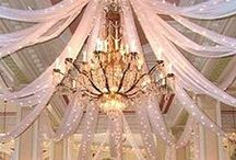 CURTAIN CALLS / Photos of Pipe & Drape for Backdrops, Tents, Etc. / by Tablescapes By Design