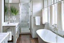 Home: Bathrooms / Inspiration for half baths, jack and Jill baths, guest baths, and master bathrooms.