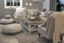 Home: Living Spaces / Inspiration for living rooms, dens, hearth rooms, and family rooms.