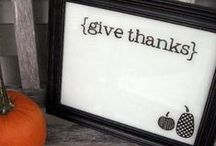Thanksgiving DIY with Dry-Erase Markers / Simple activities for your Thanksgiving decor with your EcoSmart dry-erase markers! / by EcoSmart Products