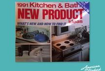 1990s in the Kitchen! / Coverage of American Standard and other kitchen products from 1990-1991.