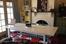 Craft Room/Organisation Ideas / Fab ideas for craft rooms