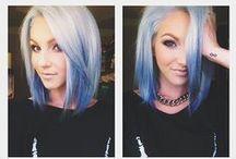 Hair up-do's/ Colors / by Stefanie Kytta