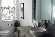 Bathroom project ideas / by Tracie Ansell