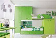 Lime Green and I Like It! / nursery and kids rooms decor with bright and colorful lime green patterns, prints, furniture, and more