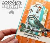 Card Making Ideas by Carolyn Bennie using Stampin' Up! / Original cards and projects created by Carolyn Bennie http://carolynbennie.com/