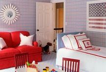 Red, White and Baby / by Modern Nursery