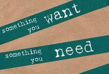 I want... / by Jennifer Therese
