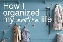 I am so domesticated. / Cleaning & organisation inspiration.