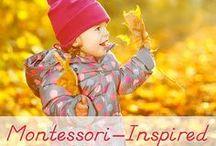 Montessori activities  / by Donna Schmoyer