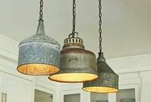 House: Light up my world / Lighting options  / by Penny Mansell