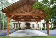 House: Garage, Storage, & outbuildings / by Penny Mansell