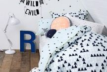 Baby Boy Nursery Ideas / Baby boy nursery ideas for a modern home.