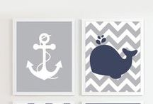 Maritime Madness / Summer, beachy, and all things nautical for nursery decor.