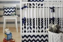 Chevron Dream / All Chevron Everything in nursery and baby.