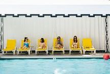 Poolside / Summer afternoons by the pool? Yes, please!