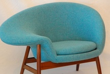 Chairs / I'm a little obsessed with chairs, particularly mid-century versions.
