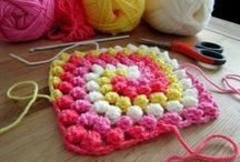 KNIT and CROCHET / When I learn to knit and crochet...I'll be ready!