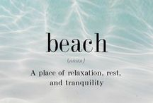 .beach. / by Krystle Park