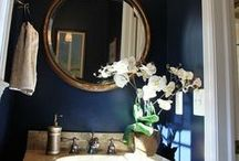 Powder Rooms / Patti Johnson Interiors can transform your powder room or bathroom into a room of exquisite beauty! Call today. Http://pattijohnsoninteriors.com.  / by Patti Johnson Interiors