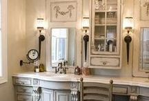 Bathrooms / This board reflects what http://pattijohnsoninteriors.com can do for your home. / by Patti Johnson Interiors