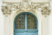 Doors / Lovely architecture and exterior doors! / by Patti Johnson Interiors