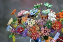 Flowers / Beautiful handmade gifts inspired by flowers. Made in UK by talented designers & makers.