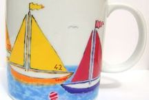Nautical & Seaside Themed Gifts / Beautifully handmade nautical and seaside themed gifts created by UK based designers, makers and crafs people. Every gift is unique.