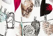 Fabrics, textures, materials