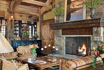 Rustic Rooms / Lovely rooms with a rustic influence. / by Patti Johnson Interiors