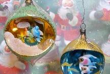 xmas vintage ornaments