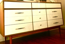 Pretty Painted Dressers / Antique, modern, vintage, retro, mid-century modern and just plain weird dressers are redeemed with paint.