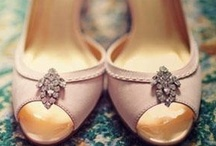 Wedding Shoes / We absolutely love these beautiful wedding shoes!  For wedding flower ideas and inspiration, visit us at www.signaturebloom.com | florist wedding San Jose, CA |  Please note that images on this board are owned by their original owners, you can view the source by clicking on the picture twice.