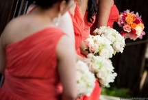 Coral Wedding  / White and coral wedding ideas for a summer outdoor wedding. To view wedding flowers by Signature Bloom, visit us at www.signaturebloom.com | florist  San Jose, California |  Please note that images on this board are owned by their original owners, you can view the source by clicking on the picture twice.