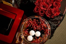 Red Black and White Wedding / Red, black and white wedding ideas that are sexy, sophisticated and romantic. To view flowers by Signature Bloom, visit us at www.signaturebloom.com | florist San Jose, California | Please note that images on this board are owned by their original owners, you can view the source by clicking on the picture twice.