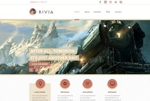 Rivia - PSD Template / Unique, modern & responsive Design by MIK Agency.