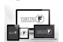 "Furttal Branding / Brandbook for the Company ""Furttal Armierungen AG"" made by MIK Agency."
